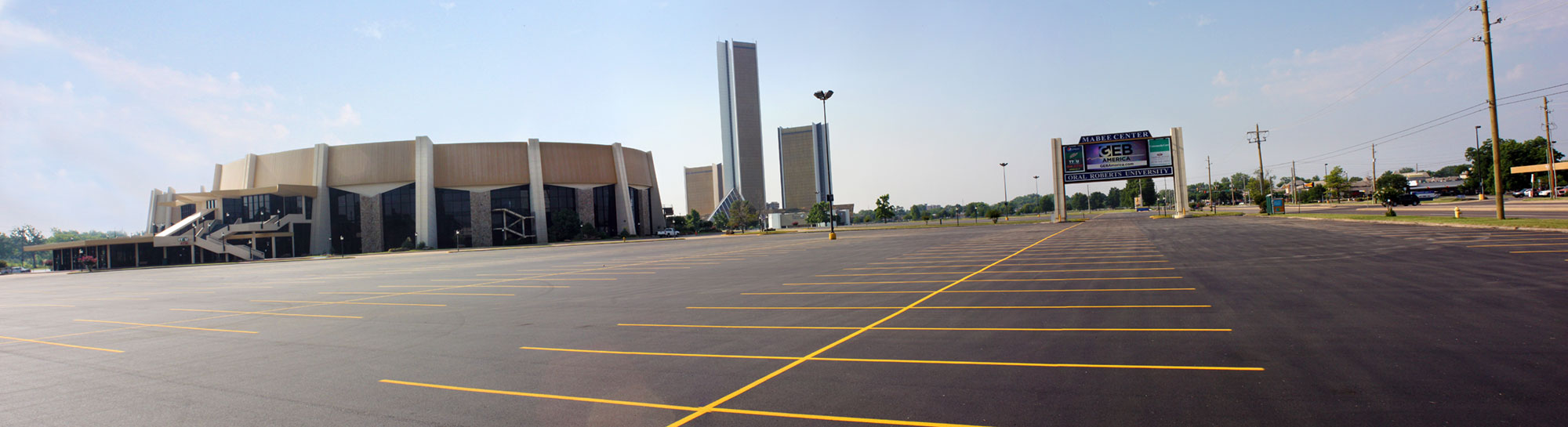 Mabee-Center-panorama-parking